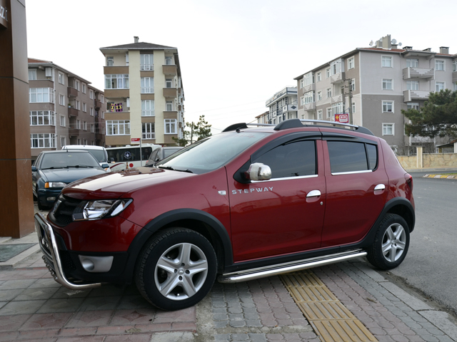 Dacia Sandero Stepway Rear Spolier Bar Rear Guard Bull Bar