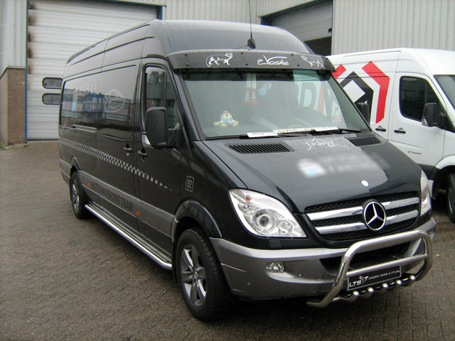 Mercedes Sprinter W906 Stainless Steel Chrome Nudge A