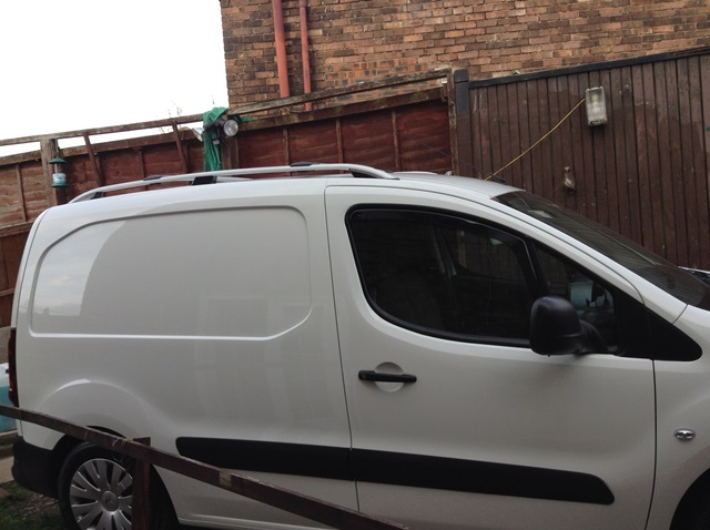 Citroen Berlingo Van Aluminium Roof Rail Bars Racks Set