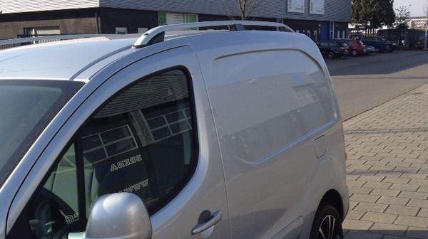 Fiat Fiorino Citroen Nemo Peugeot Bipper Roof Rail Bars
