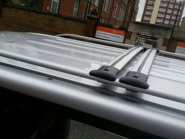 Vw T5 T6 Transporter Roof Rail Bars Racks Set Cross Bars