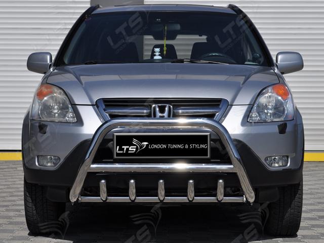 Honda Cr V Mk2 Chrome Axle Nudge A Bar Stainless Steel Bull Bar 2002 2006 8438476065315 Ebay