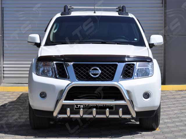 Chrome axle nudge bar bull bar for nissan navara 2010 2015 nissan navara chrome bull bar 2010 2015 sciox Gallery