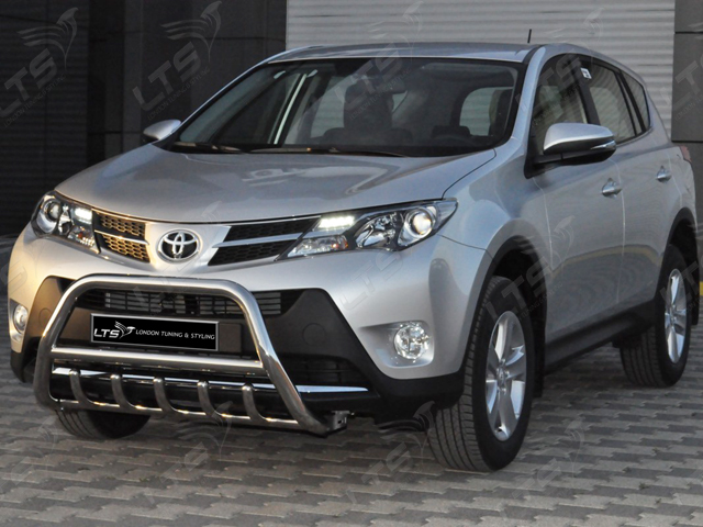 Toyota Rav4 Chrome Axle Nudge A Bar Bull Bar 2013 2015