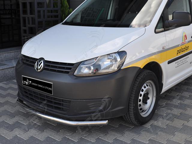VW CADDY SPOILER BAR NUDGE BAR STAINLESS STEEL BULL BAR 2010 2014 | eBay