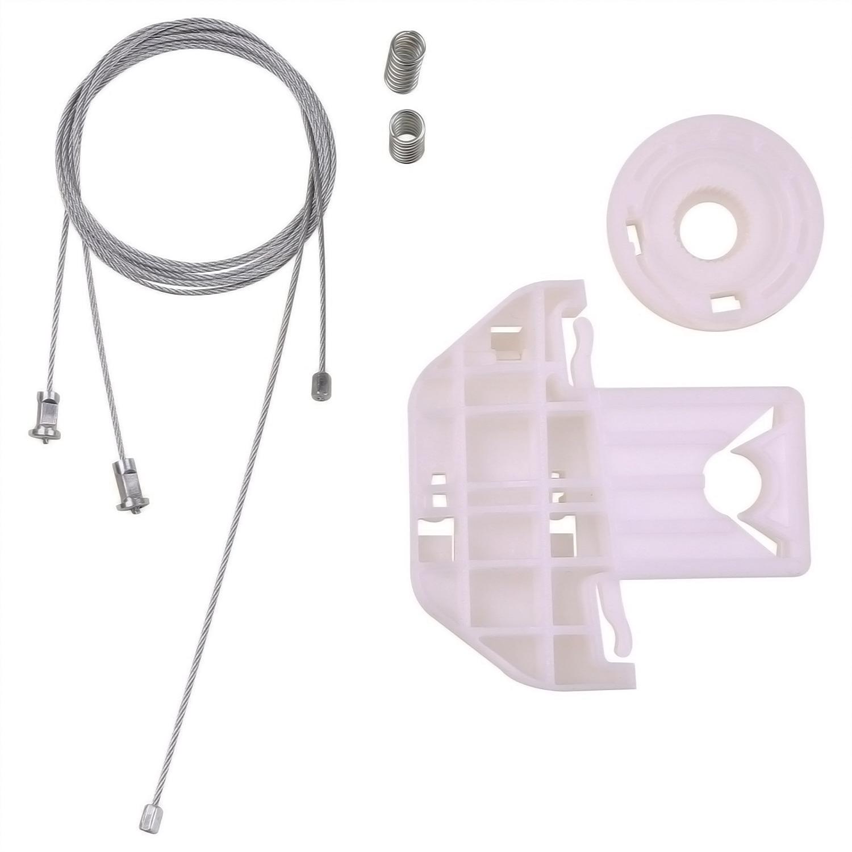 Window Regulator Repair Kit Rear Left for Nissan Terrano MK2 1993-2005 4//5 Doors