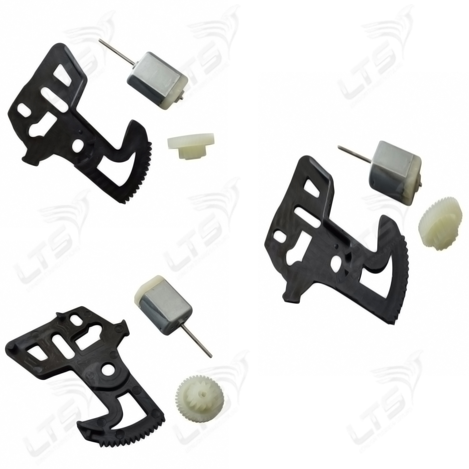 Vw Caddy Transporter T5 Slider Door Lock Gears And Motor Set 2003 2010 Models Vehicle Parts Accessories Car Parts