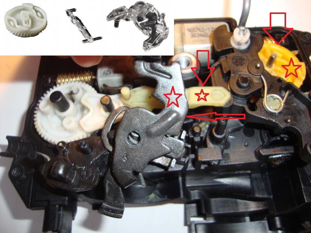 bmw e90 e91 e92 e93 f01 door lock latch catch mechanism repair kit front left ebay. Black Bedroom Furniture Sets. Home Design Ideas