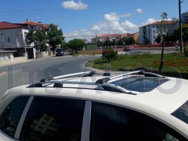Porsche Cayenne Lockable Cross Bars Roofbar Rack 2003 2010